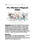 Mr. Wonka's Magical Math