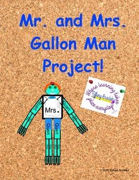 Mr. and Mrs. Gallon Man Math Project
