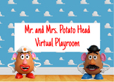 Mr. and Mrs. Potato Head Virtual Playroom BOOM CARDS