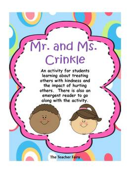 Mr. and Ms. Crinkle Activity