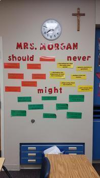 Beginning of the Year Teacher Expectations Activity