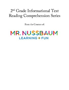 mrnussbaum second grade reading comprehension informational text