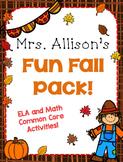 Mrs. Allison's Mini Fall Pack!