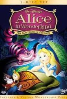 Mrs. Ashby's Alice in Wonderland Crossword Review with Key (Item 3/5)
