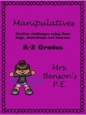Mrs. Benson's Manipulative Stations