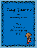 Mrs. Benson's Tag Games