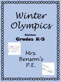 Mrs. Benson's Winter Games Stations