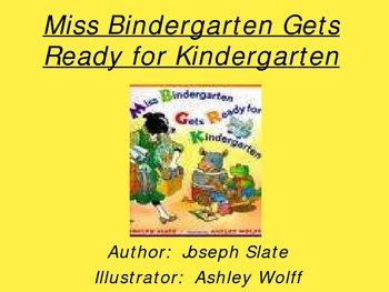 Mrs. Bindergarten Gets Ready for Kindergarten PowerPoint