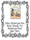Miss Bindergarten Mini Unit