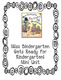Miss Bindergarten Mini Unit