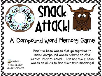 Mrs. Brown Went to Town: 2nd Grade Common Core Resources- Reading and Writing