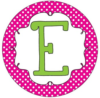 Mrs. B's Welcome Banner in Pink, Tangerine and Lime