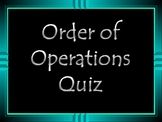 Mrs. Calhoun's Order of Operations PowerPoint Quiz