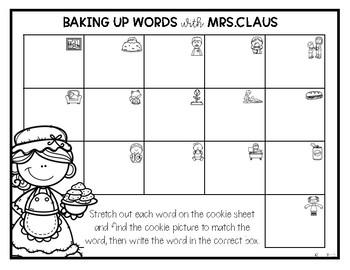 Mrs.Claus' CVC Words