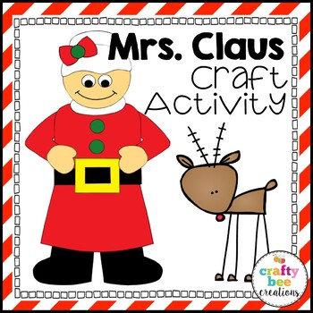 Mrs. Claus Cut and Paste