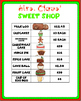 Mrs. Claus' Sweet Shop Christmas Problem Solving with  Money Task Cards