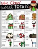 Mrs. Claus' Sweet Treats- A Christmas Math Activity