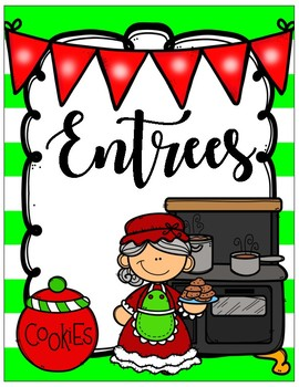 Mrs. Claus and Friends Classroom Christmas Cookbook