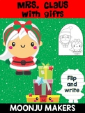 Mrs. Santa Claus with Gifts - Moonju Makers Activity, Craft, Decor, Christmas