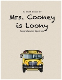 My Weird School #7: Mrs. Cooney is Loony comprehension questions