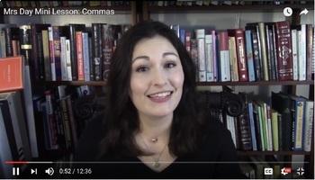 Mini Lesson: Commas (Handout + YouTube Video)