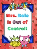 Mrs. Dole Is Out of Control ( by Dan Gutman) - Novel Study Packet