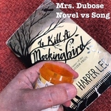 Mrs. Dubose (To Kill a Mockingbird) novel vs. song compari