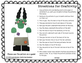 Mrs. Frankenstein Craft