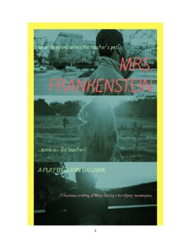 Mrs. Frankenstein: a humorous retelling of Mary Shelley's classic