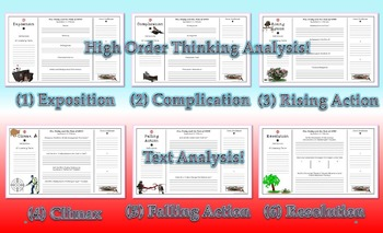 Mrs. Frisby and the Rats of NIMH 6 Stages of Plot Analysis Activity