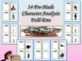 Mrs. Frisby and the Rats of NIMH Character Analysis Fold-Ems