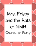 Mrs. Frisby and the Rats of NIMH Character Party