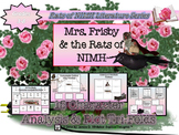 Mrs. Frisby and the Rats of NIMH Character and Plot Analysis Tri-Folds