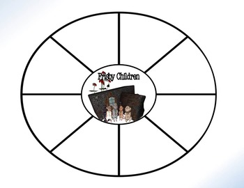 Mrs. Frisby and the Rats of NIMH Circle Graphic Organizer Activity