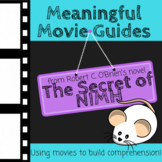Meaningful Movie Guides: Mrs. Frisby and the Rats of NIMH