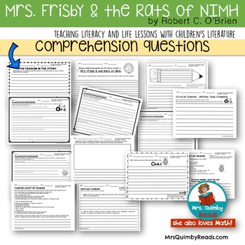 Mrs.Frisby and the Rats of NIMH | Literature [Reading Response] | Book Companion