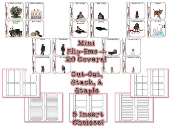 Mrs. Frisby and the Rats of NIMH Ultimate Interactive Lap Book