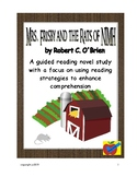 Mrs. Frisby and the Rats of NIMH guided reading plan