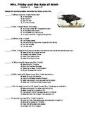 Mrs. Frisby and the Rats of Nimh - quiz on chapers 1-6 (p.1-44)