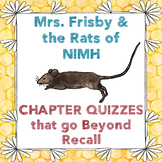 Mrs. Frisby & the Rats of NIMH Chapter Quizzes, CC-Aligned