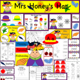 Mrs Honey's Hat book study activity pack