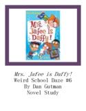 Mrs. Jafee Is Daffy! Weird School Daze #6 Chapter Questions