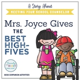 BACK TO SCHOOL FOR SCHOOL COUNSELORS: Mrs. Joyce Gives the Best High-Fives