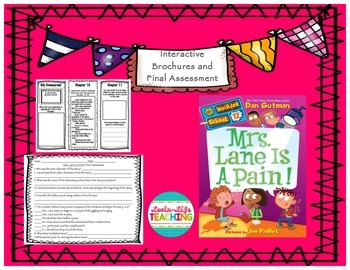 Mrs. Lane is a Pain! Brochures and Final Assessment- NO PREP!