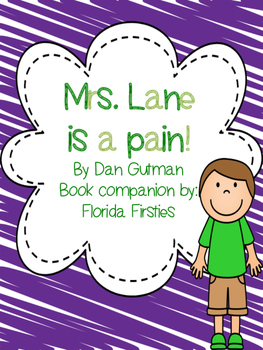 Mrs. Lane is a pain! {Book companion} My Weirder School