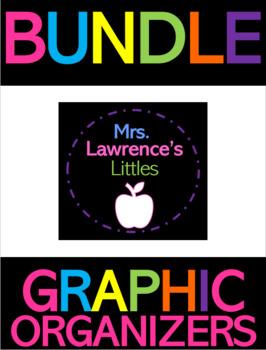 Mrs. Lawrence's Littles ELA Graphic Organizer Bundle