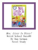 Mrs. Lizzy Is Dizzy! Weird School Daze #9 Chapter Questions