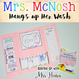 Mrs. McNosh Hangs Up Her Wash Lapbook