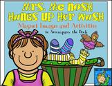 Mrs. McNosh Hangs Up Her Wash - Magnet/Felt Board Story an