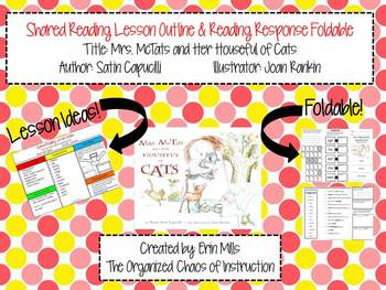 Mrs. McTats and Her Houseful of Cats-Lesson Outline & Read